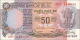 Inde - p084d - 50Roupies - ND (1980) - Reserve Bank of India