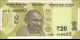 Inde - p110a - 20 Roupies - 2019 - Reserve Bank of India