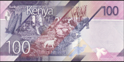 Kenya - pNew - 100 shilingi - 2019 - Banki Kuu ya Kenya / Central Bank of Kenya