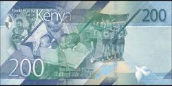 Kenya - pNew - 200 shilingi - 2019 - Banki Kuu ya Kenya / Central Bank of Kenya