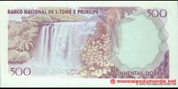 São Tomé-et-Príncipe - p61 - 500 Dobras - 04.01.1989 - Banco Nacional de S. Tomé e Príncipe