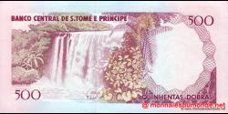 São Tomé-et-Príncipe - p63 - 500 Dobras - 26.08.1993 - Banco Central de S. Tomé e Príncipe