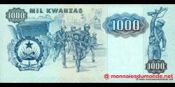 angola - p121b - 1000 kwanzas - 11.11.1987 - Banco Nacional de Angola