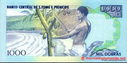 São Tomé-et-Príncipe - p64 - 1.000 Dobras - 28.06.1993 - Banco Central de S. Tomé e Príncipe