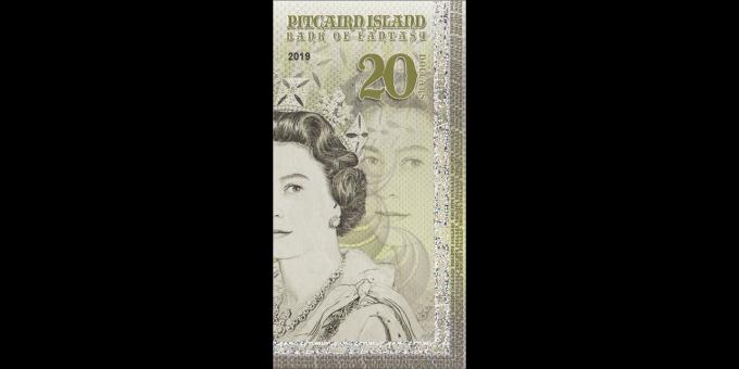 Iles Pitcairn - pNL020 - 20 dollars - 2019 - Bank of Fantasy