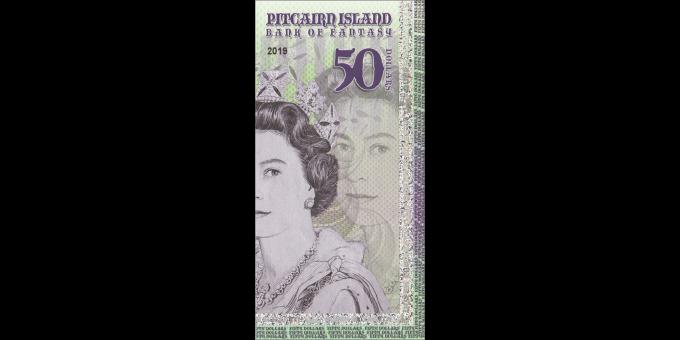 Iles Pitcairn - pNL050 - 50 dollars - 2019 - Bank of Fantasy