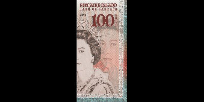 Iles Pitcairn - pNL100 - 100 dollars - 2019 - Bank of Fantasy