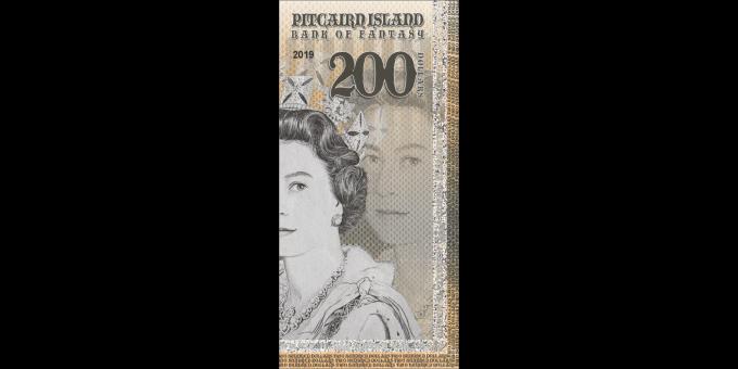 Iles Pitcairn - pNL200 - 200 dollars - 2019 - Bank of Fantasy