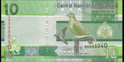 Gambie - p38 - 10 dalasis - 2019 - Central Bank of The Gambia