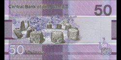 Gambie - p40 - 50 dalasis - 2019 - Central Bank of The Gambia