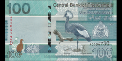 Gambie - p41 - 100 dalasis - 2019 - Central Bank of The Gambia