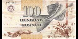 Féroé - p30 - 100 Krónur - 2011 - Faeroe Islands Government