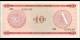 Cuba - pFX04 - 10Pesos - ND (1985) - Banco Nacional de Cuba