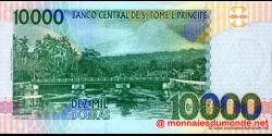 São Tomé-et-Príncipe - p66a1 - 10.000 Dobras - 22.10.1996 - Banco Central de S. Tomé e Príncipe