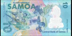 Samoa - p45 - 10 tala - 2019 - Faletupe Tutotonu o Samoa / Central Bank of Samoa