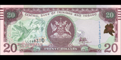Trinidad et Tobago - p49c - 20 Dollars - 2006 - Central Bank of Trinidad and Tobago