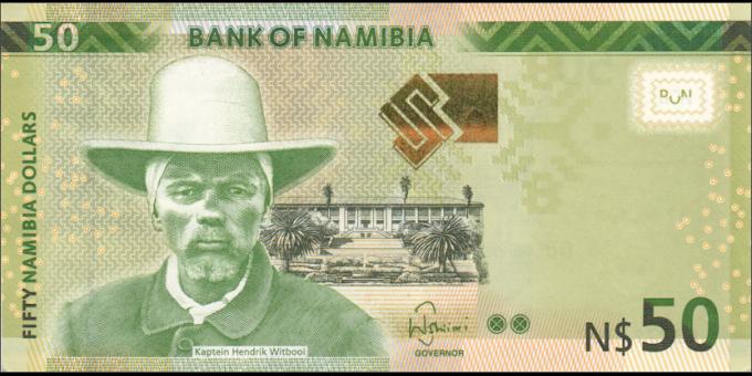 Namibie - p13b - 60 dollars - 2016 - Bank of Namibia