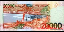 São Tomé-et-Príncipe - p67a1 - 20.000 Dobras - 22.10.1996 - Banco Central de S. Tomé e Príncipe