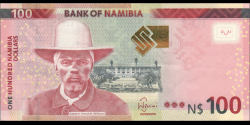 Namibie - p14a - 100 dollars - 2012 - Bank of Namibia
