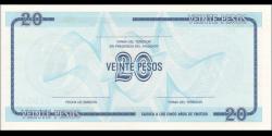 Cuba - pFX23 - 20Pesos - 1985 - Banco Nacional de Cuba