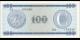 Cuba - pFX25 - 100Pesos - 1985 - Banco Nacional de Cuba