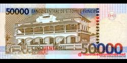 São Tomé-et-Príncipe - p68a1 - 50.000 Dobras - 22.10.1996 - Banco Central de S. Tomé e Príncipe