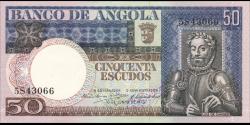 angola - p105 - 50 escudos - 10.06.1973 - Banco de Angola