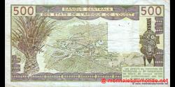 Sénégal - p706Ki - 500 Francs - 1986 - Banque Centrale des États de l'Afrique de l'Ouest