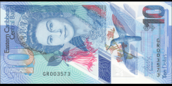 Etats Caraïbes Orientales - p56a - 10 Dollars - ND (2019) - Eastern Caribbean Central Bank
