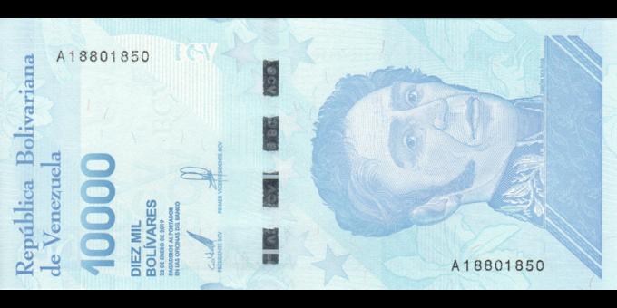 Venezuela - p109a - 1000 Bolívares soberano - 22.01.2019 - Banco Central de Venezuela