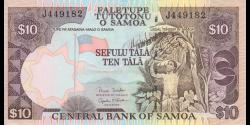 Samoa - p34b - 10tala - ND (2005) - Faletupe Tutotonu o Samoa / Central Bank of Samoa