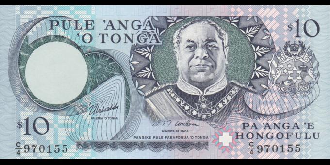 Tonga - p34c - 10Pa'anga - ND (1995) - Pangike Pule Fakafonua 'o Tonga / National Reserve Bank of Tonga