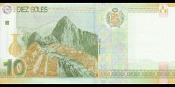 Pérou - p192 - 10 Soles - 10.03.2016 - Banco Central de Reserva del Perú