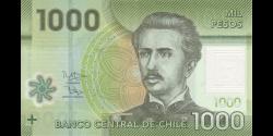 Chili - p161g - 1.000 Pesos - 2016 - Banco Central de Chile