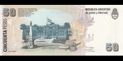 Argentine - p356g - 50 Pesos - ND (2003) - Banco Central de la República Argentina