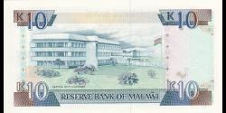 Malawi - p25b - 10 Kwacha - 01.09.1992 - Reserve Bank of Malawi