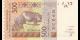 guinée-bissau - p919Se - 500 francs - 2016 - Banque Centrale des Etats d'Afrique de l'Ouest