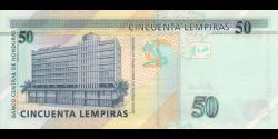 Honduras - p094b - 50 Lempiras - 6.5.2010 - Banco Central de Honduras
