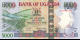 Ouganda - p44b - 5.000 Shillings - 2005 - Bank of Uganda