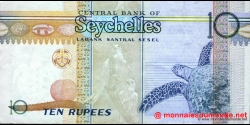 Seychelles - p36b - 10 Roupies - ND (1998 - 2008) - Central Bank of Seychelles / Labank Santral Sesel