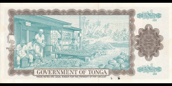 Tonga - p18c - ½ Pa'anga - 29.07.1983 - Komisiona Pa'anga / Currency Commission