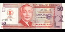 Philippines - p211A - 50Piso - 2012 - Bangko Sentral ng Pilipinas