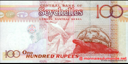 Seychelles - p40c - 100 Roupies - ND (2001) - Central Bank of Seychelles / Labank Santral Sesel