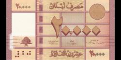 Liban - p93a - 20.000Livres - 2012 - Banque du Liban