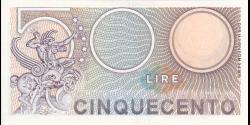 Italie - p094b - 500 Lire - 2.4.1979 - Repubblica Italiana