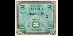 France - p114b - 2 Francs - 1944 - Forces Alliées