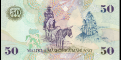 Lesotho - p17d - 50 Maloti - 2001 - Central Bank of Lesotho