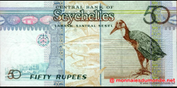 Seychelles - p39A - 50 Roupies - ND (2005) - Central Bank of Seychelles / Labank Santral Sesel