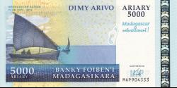 Madagascar - p-094 - 5.000 ariary - 2008 - Banky Foiben'i Madagasikara