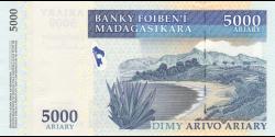Madagascar - p-94 - 5.000 ariary - 2008 - Banky Foiben'i Madagasikara